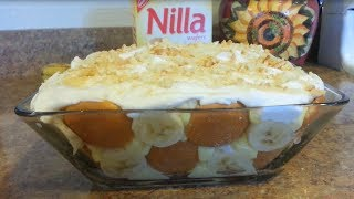 How To Make A No Bake Banana Pudding W/ Nilla Wafers- 99 Cents Only Store Recipe