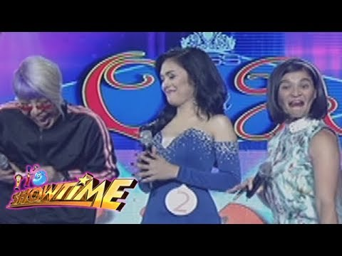 It's Showtime Miss Q & A: Vice says 'TLK' to one of the Showtime Dancers
