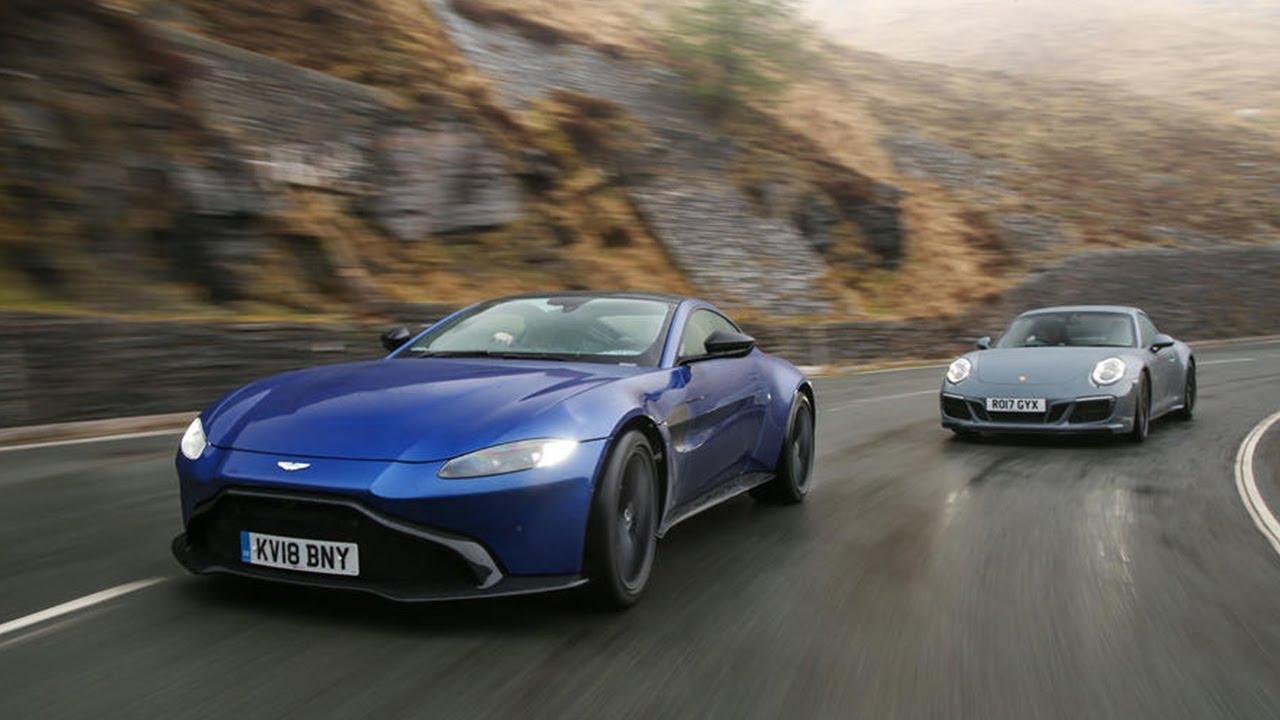2019 Aston Martin Vantage Vs 2018 Porsche 911 Turbo S Technical Specifications Youtube