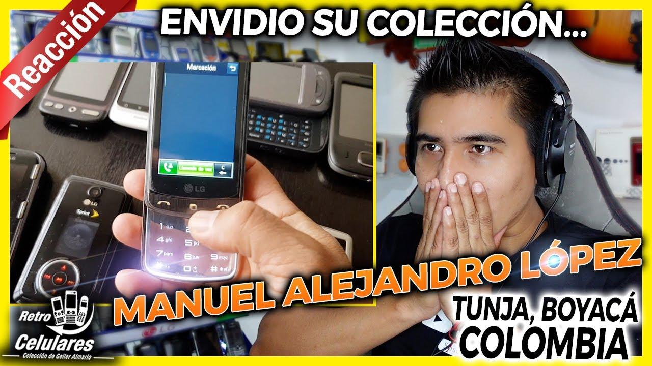 Envidio su COLECCIÓN | Manuel Alejandro López de Tunja Boyacá Colombia | Retro Celulares