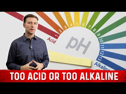 How to Know If You Are Too Alkaline or Too Acid?