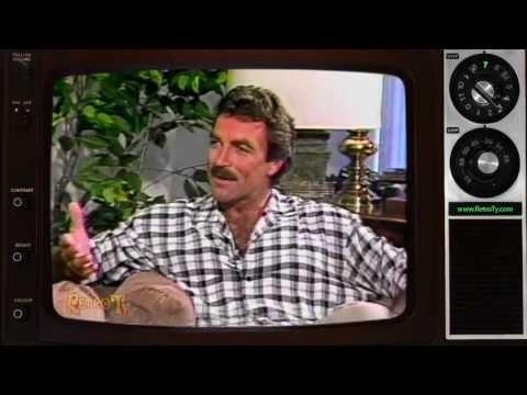 1987 - Nightbeat News - Tom Selleck Interview