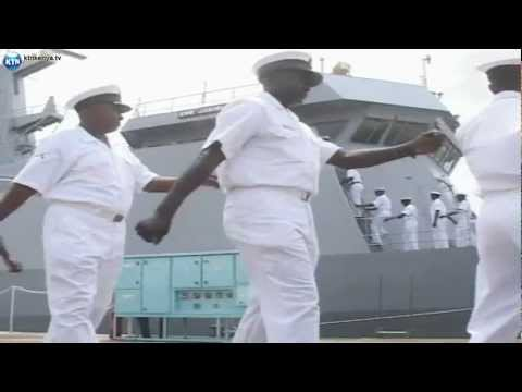 Kenya Navy Ship Arrives