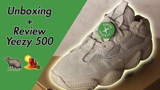 a25c1e3ae UNBOXING + REVIEW YEEZY 500 BLUSH!