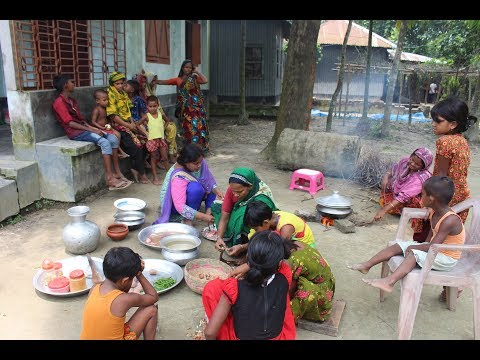 Village Food | 30 Village children are doing picnic | Grandmother recipes-112