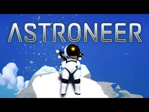 SPACE CHUBBY   Let's Play Astroneer Part 1   Base building & Cave Exploration   Pre-Alpha Gameplay