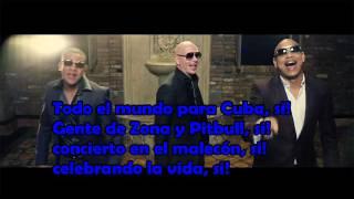 Gente de zona/Pitbull - Yo quiero (Letra)