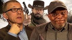 Waltz, Foxx, Jackson und Washington über Django Unchained