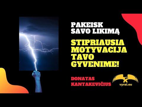 9 MINUTĖS - STIPRIAUSIOS MOTYVACIJOS TAVO GYVENIME!