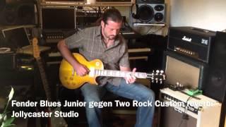 fender blues junior vs two rock custom reverb