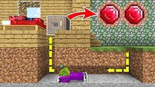 JOKER ÖRÜMCEK ADAM'IN KIRMIZI ELMASLARINI ÇALIYOR (EN DEĞERLİ MADEN RUBY) - Minecraft
