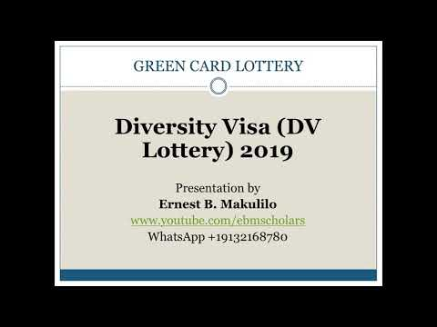 GREEN CARD LOTTERY 2019 APPLICATION IN SWAHILI PRESENTATION