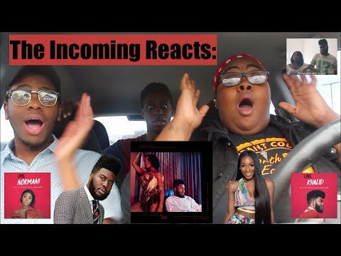 LOVE LIES  KHALID & NORMANI  REACTION