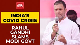 Modi Govt's Failure Has Made COVID-19 Lockdown Inevitable, Says Rahul Gandhi   Breaking News
