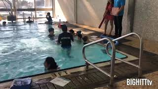 Jeremiah swimming 🏊 classes at the YMCA