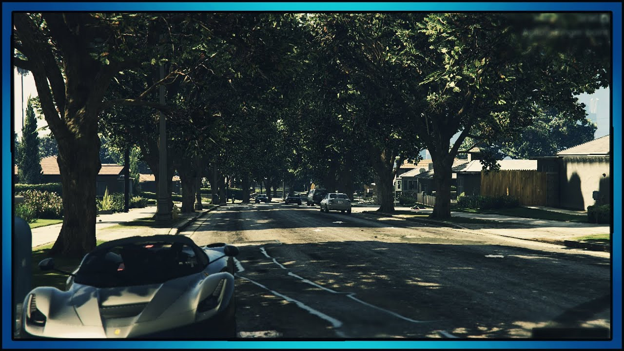 INSANE GRAPHICS IN GTA 5!! - REALISTIC GRAPHICS MOD! (GTA ...