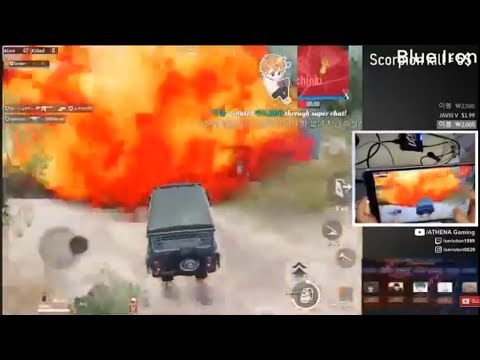 Mortal, Dynamo, Athena, BiuBiu Dies In Red Zone In Pubg Mobile | Funny Moments 😂 😂