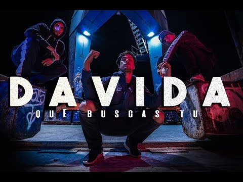 DAVIDA  - QUE BUSCAS TU (Official Video)