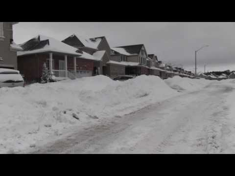 Experience Barrie in the winter