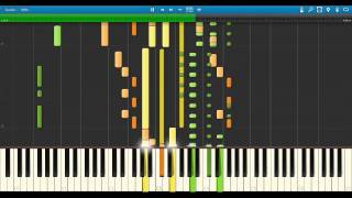 Cutting Crew - I just died in your arms tonight (HD) [Band Arrangements/Synthesia]