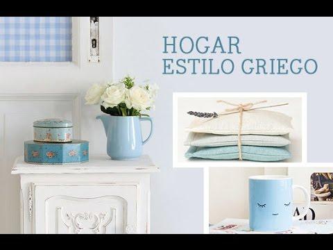 Deco hogar estilo griego inspiraci n dawanda youtube for Estilo hogar muebles