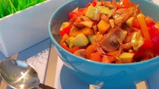 Вы полюбите это салат!!!! Бюджетно и вкусно. Рецепты салатов.