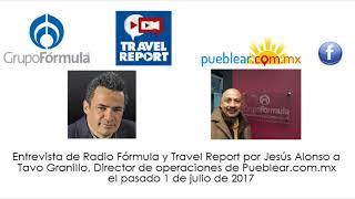 Baixar Entrevista Radio Fórmula a  Pueblear.com.mx