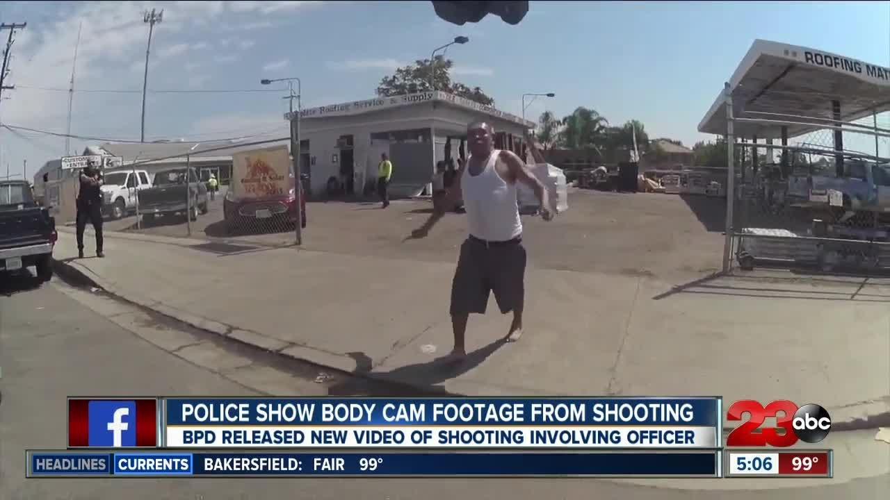 Download Bakersfield police body cam footage shows shooting