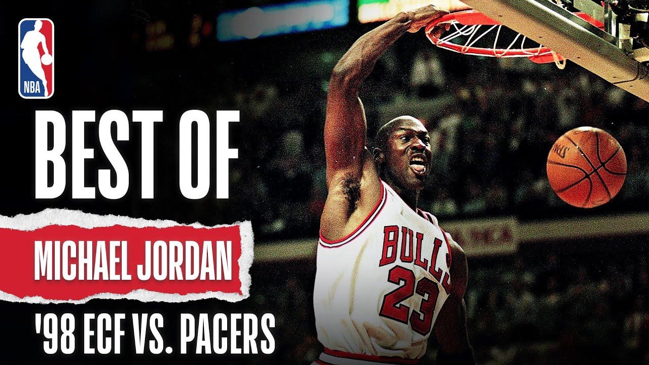Jordan WENT OFF In '98 ECF Vs. Pacers | The Jordan Vault