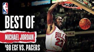Jordan WENT OFF In '98 ECF Vs. Pacers   The Jordan Vault