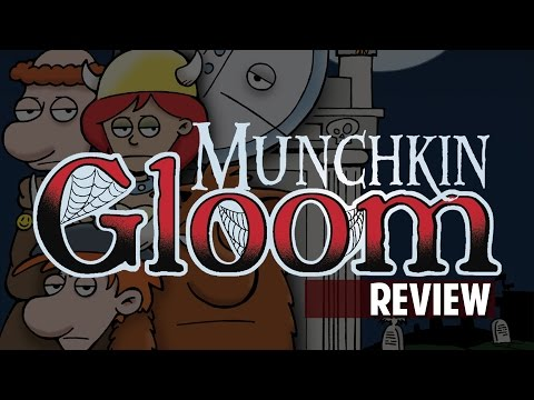 Munchkin Gloom (Board Game Review)