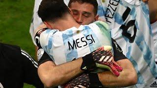 Argentina vs Colombia Narracion colombiana Gol Caracol 1-1 (3-2) Penales / Dibu Martinez