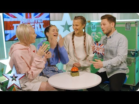 Code 3 and Sue Moretta chat exclusively in BGT's AO.com Green Room