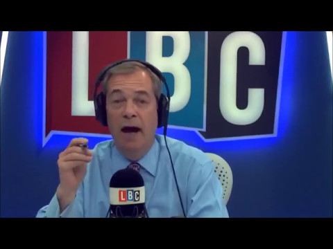 Nigel Farage Discusses Le Pen's Defeat in French Election