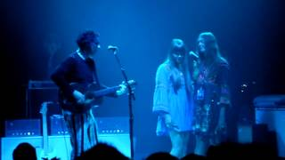We're going to be friends - Jack White with First aid kit, Olympia, Paris 2 July 2012