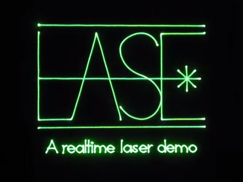 OpenLase: open realtime laser graphics - marcan st