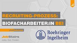 Recruiting Video Boehringer Ingelheim - Mitarbeiter (m/w) biotechnologische Produktion