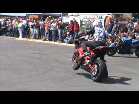 Ocean Shores Sun and Surf Run 2012.  Hollywood Freestyle Sport Bike Riders