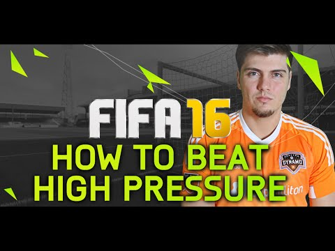 HOW TO BEAT HIGH PRESSURE DEFENDING IN FIFA 16! THE ULTIMATE TUTORIALS & TIPS