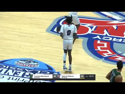 Antoine Davis Sets A Detroit Mercy Freshman Record - 42 Points
