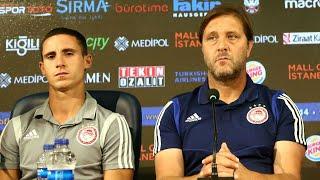 Συνέντευξη Τύπου Μπασακσεχίρ  - Ολυμπιακός / Press Conference Basaksehir - Olympiacos