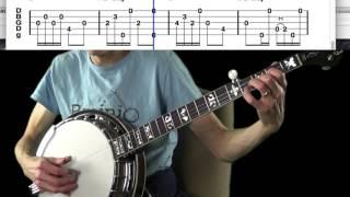 "Bluegrass Banjo Classics: ""Worried Man Blues,"" Brainjo level 2"