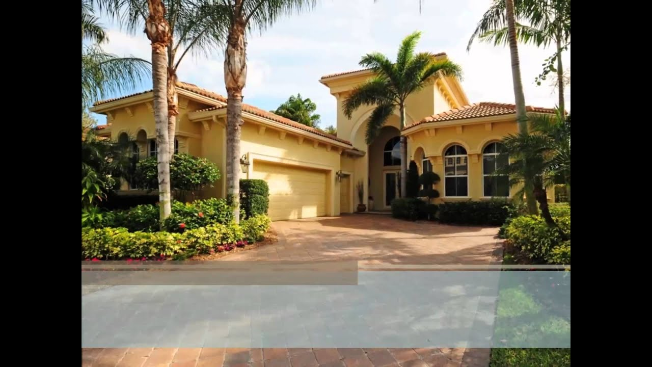 Mirasol Olivera Homes l Palm Beach Gardens - YouTube