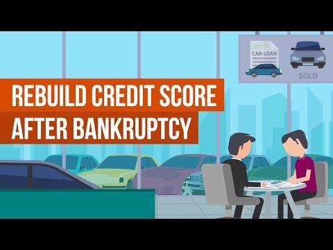 Rebuild Credit Score [After Bankruptcy]
