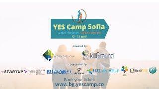 YES Camp Sofia - 13 - 15 April 2018