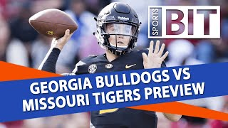 Georgia vs Missouri | Sports BIT Clip | College Football Odds & Picks