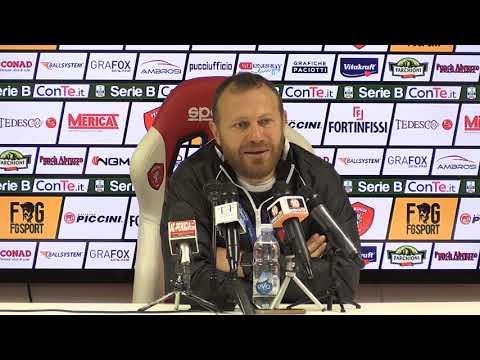 Sintesi della Conferenza di Breda pre gara Salernitana Perugia