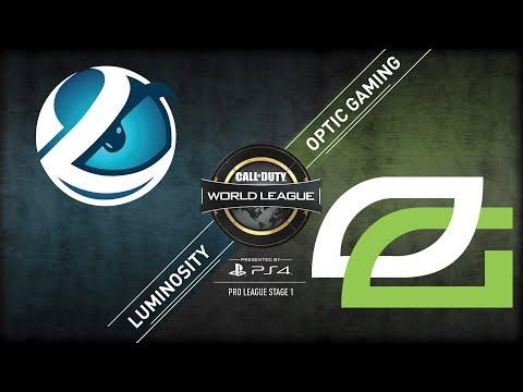 Luminosity vs OpTic Gaming | CWL Pro League Stage 1 Playoffs 2018 | Championship Sunday