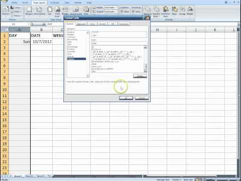 microsoft-excel:-tracking-your-body-weight-(part-1)