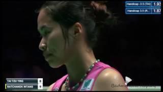 tai tzu ying 1 tpe vs ratchanok intanon 5 tha yonex all england 2017 ws final
